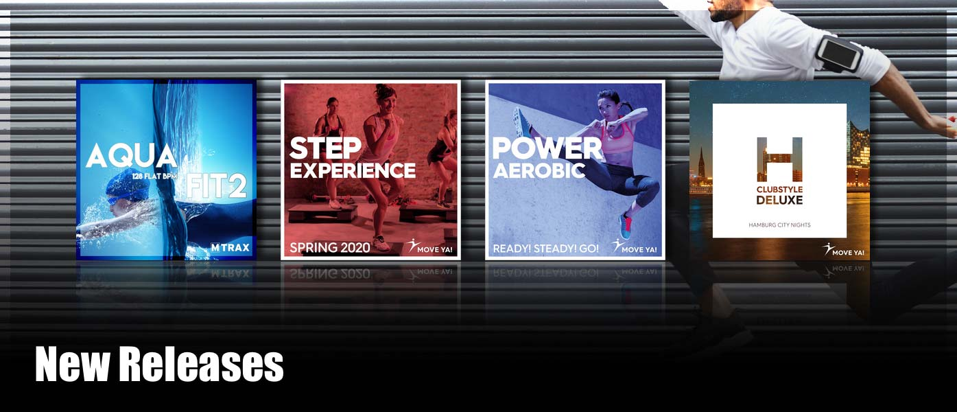 New fitness music downloads