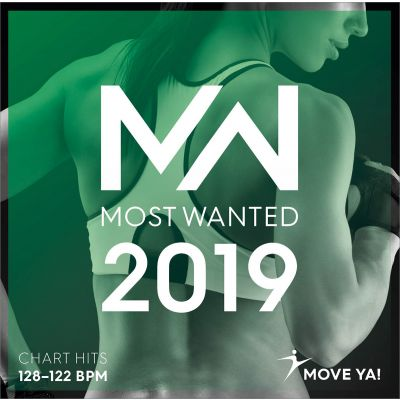 2019 Most Wanted Chart Hits 128 - 122 BPM MP3