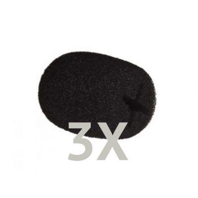 Headset Microphone Windscreen / Puffskydd 3-Pack