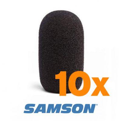 Samson Headset Microphone Windscreen / Puffskydd 10-Pack